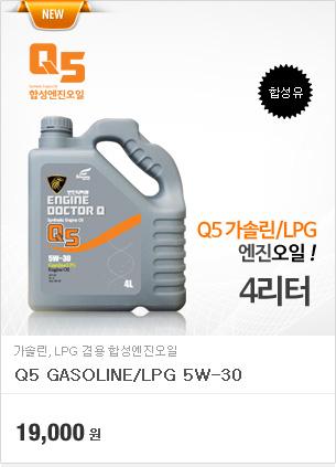 Q5 가솔린/LPG 5w30(4리터)