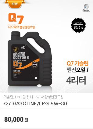 Q7 가솔린/LPG 5w30(4리터)